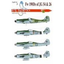 Fw190D-9s of JG 54 and 26
