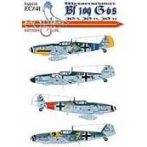 Bf109G-6s JG3, JG53, JG54