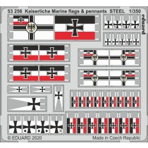 Kaiserlische Marine flags & pennants 1/350
