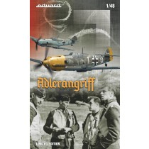 ADLERANGRIFF Limited edition kit Bf109E 1/48