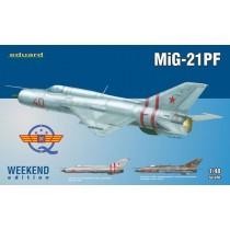MiG-21PF Weekend edition