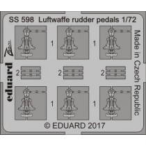 Luftwaffe rudder pedals STEEL