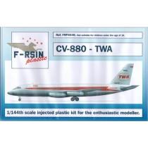 Convair CV-880 Coronado TWA
