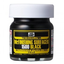 Mr. Finishing Surfacer 1500 Black, 40 ml