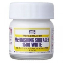 Mr. Finishing Surfacer 1500 White, 40 ml