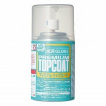 Mr. Premium Top Coat, klarlack, halvblank, 86 ml  aerosol