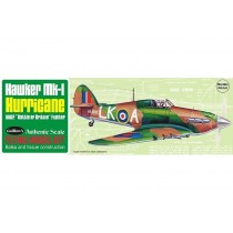 Hawker Mk.1 Hurricane Balsa Aircraft Kit. Span: 42 cm