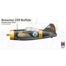 Brewster B-239 Buffalo Finnish Aces (ex Hasegawa)