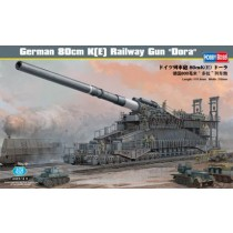 German 80cm K(E) Railway Gun Dora - 111 cm long