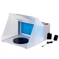 Spray Booth 100-240V m. LED-ljus