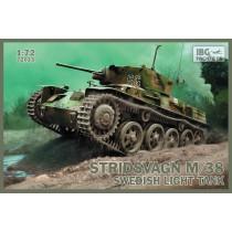 Stridsvagn M/38 Swedish light tank