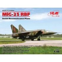 MiG-25RBF Soviet Reconnaissance Plane
