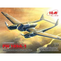 Fw189A-1 WWII German Recce Plane NEW MOLDS