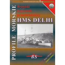 AA cruiser HMS DELHI