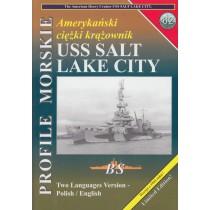 Heavy cruiser USS Salt Lake City