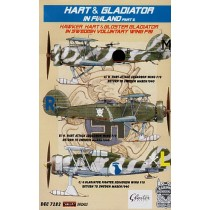 Hawker Hart and Gladiator in Finland part 2