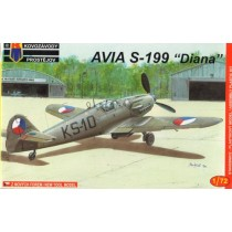 Avia S-199 Diana, early CzAF NEW MOULD!
