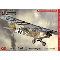 Piper L-4 Grasshopper w. Bazookas