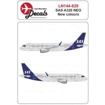 SAS new cs Airbus A320 NEO
