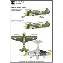 Curtiss Hawk 75A (P-36) Finland Air Force x 2
