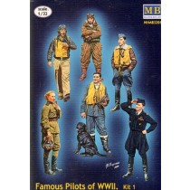 Famous Pilots of WWII, set 1