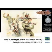 Brittish / German infantry Hand-to-hand