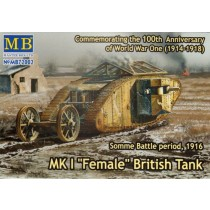 Mk.I Female British Tank. Somme 1916