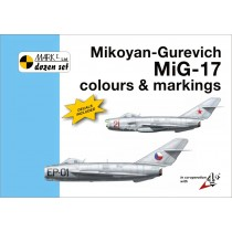 MiG-17 colours & markings incl 1/72 decals