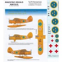 Tp78 Norduyn Norseman in Swedish AF service