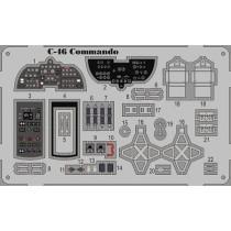 C-46 Commando detaljer COLOR ETCH