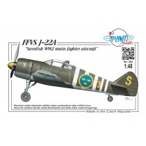 FFVS J22A Swedish WW2 main fighter aircraft
