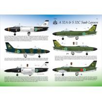 SAAB A32A & S32C Lansen