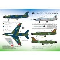 SAAB J32B & J32E Lansen