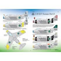 SAAB 29E/F Tunnan part 2