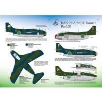 SAAB 29A/B/C/F Tunnan part 3