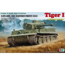 Tiger I Early Type Full Interior 503th Heavy Tank