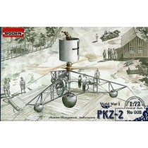 PKZ-2 Austro-Hungarian WWI helicopter