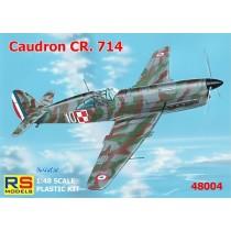 Caudron CR.714C-1 5 decals. France, Luftwaffe, Finland.