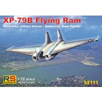Northrop XP-79 Flying Ram - decal USA