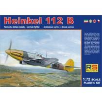 He112B Hungary, RAF, Japan, Czech