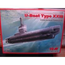 German WWII U-Boat Type XXIII