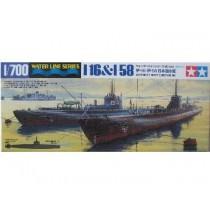 IJN submarines I-16 & I-58