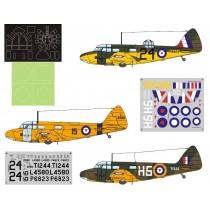 Airspeed Oxford Mk.I/II RAF Service