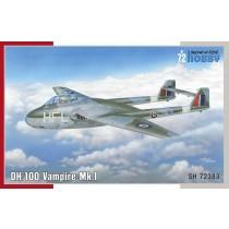 dH.100 Vampire Mk.1 RAF, RAAF & Arme de l'Air