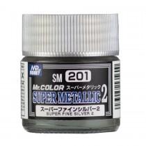 Fine Silver 10 ml - Mr. Color Super Metallic 2
