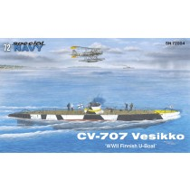 CV-707 Vesikko Finnish submarine