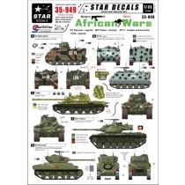 Modern African Wars #2. Uganda T-55A & M1 Sherman, Somalia M47, M113 Sweden and Australia (UN).