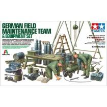German Field Maintenance Team (ex.Italeri)