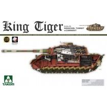 SdKfz 182 King Tiger, Henschel Turret w. Zimmerit & Interior
