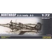 Northrop 8A-1 early SwAF B5 on wheels
